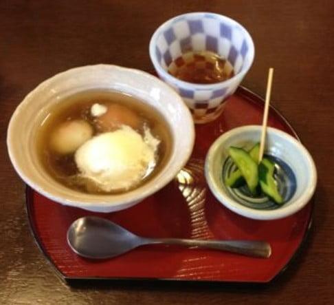 ※↑日本ぜんざい学会・壱号店・ 「冷製ぜんざい」