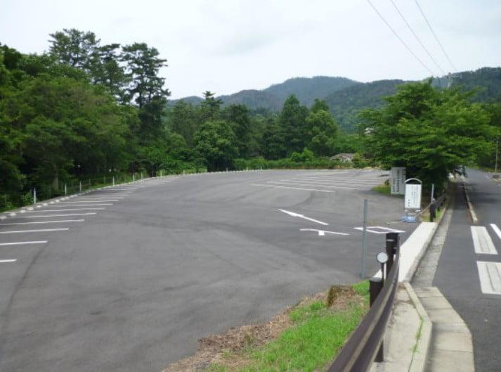 出雲大社・「かめやま広場」駐車場