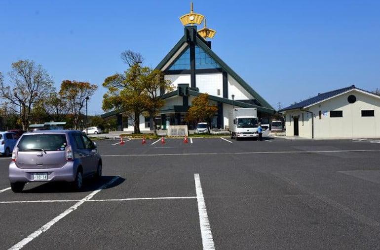 出雲大社・「ご縁広場」駐車場