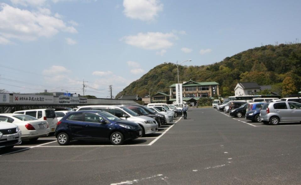 出雲大社・「大駐車場」