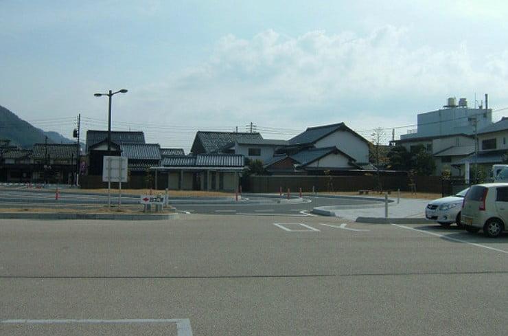 出雲大社・「神門通り交通広場」駐車場