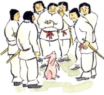 「因幡の白兎」って何?「因幡の白兎の神話」