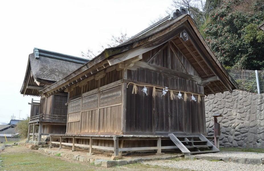 このツアーの最大の特徴は、出雲大社から少し離れたところにある「出雲大社・上宮(かみのみや)」へ参拝できると言うことです。