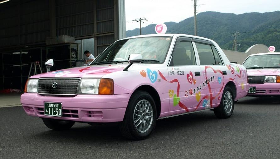 出雲大社から玉造温泉まで、タクシーを利用すると言ったこともできる