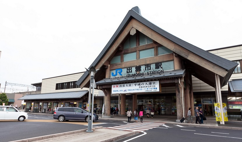 「JR出雲市駅」から出雲大社までのアクセス・行き方