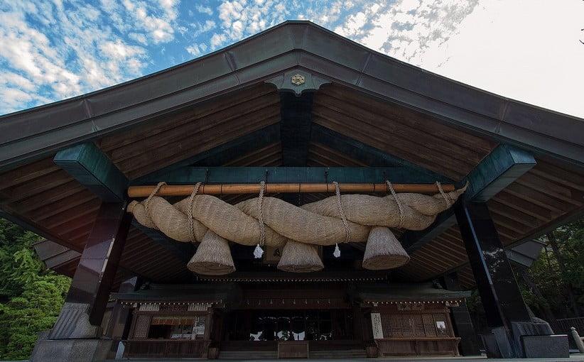 出雲大社(IZUMO-OYASHIRO)・神楽殿(KAGURADEN)