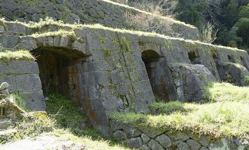 石見銀山・「清水谷製錬所跡」