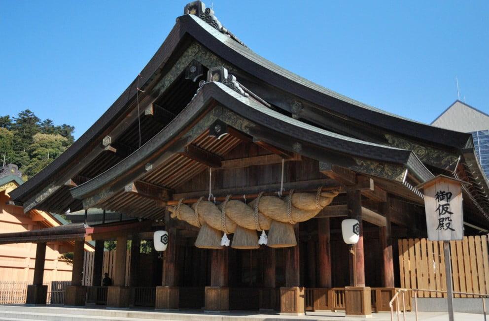 出雲大社(IZUMO-OYASHIRO)・御仮殿(OKARIDEN)