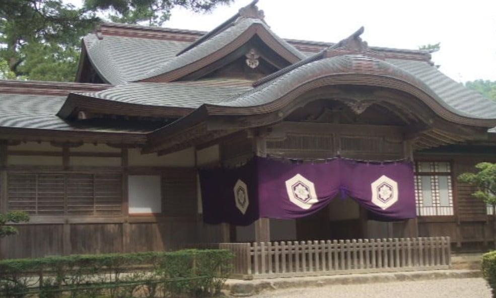 出雲大社(IZUMO-OYASHIRO)・勅使館(CHOKUSHIKAN)