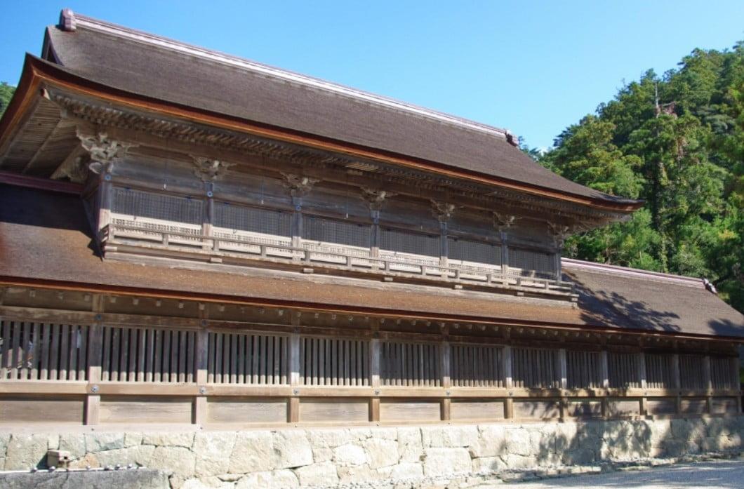 出雲大社・観祭楼(かんさいろう)【重要文化財】