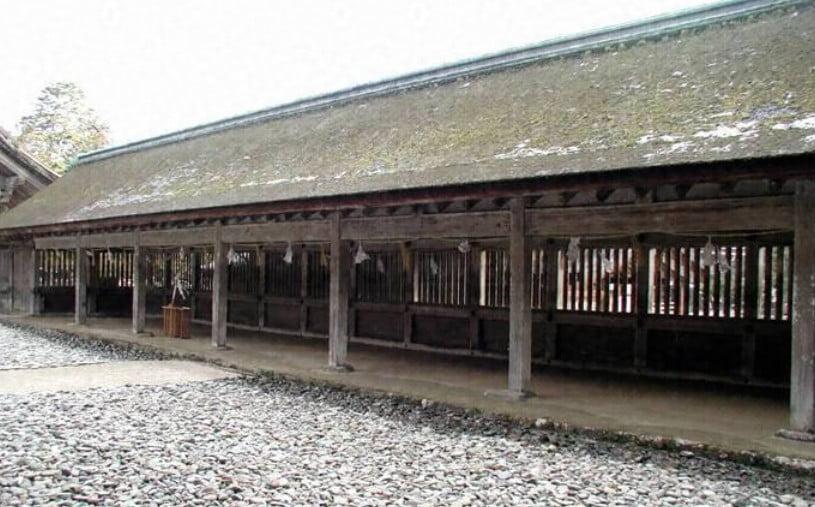 出雲大社(IZUMO-OYASHIRO)・西回廊・東回廊(KAIRO)
