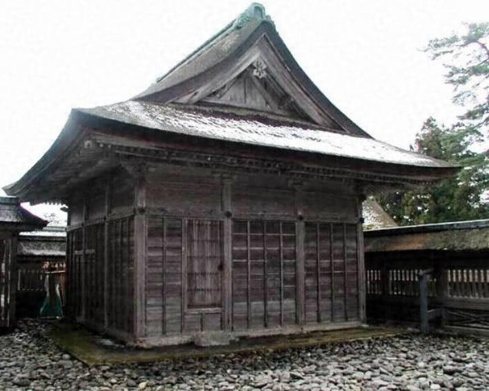 出雲大社(IZUMO-OYASHIRO)・「西⇔東」神饌所(SHINSENSHO)