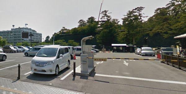 松江城公式駐車場