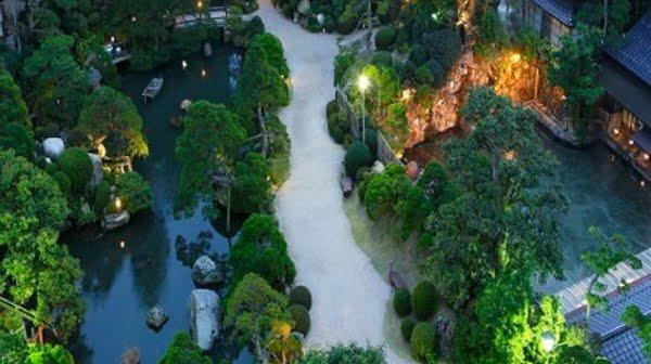 長楽園日本庭園